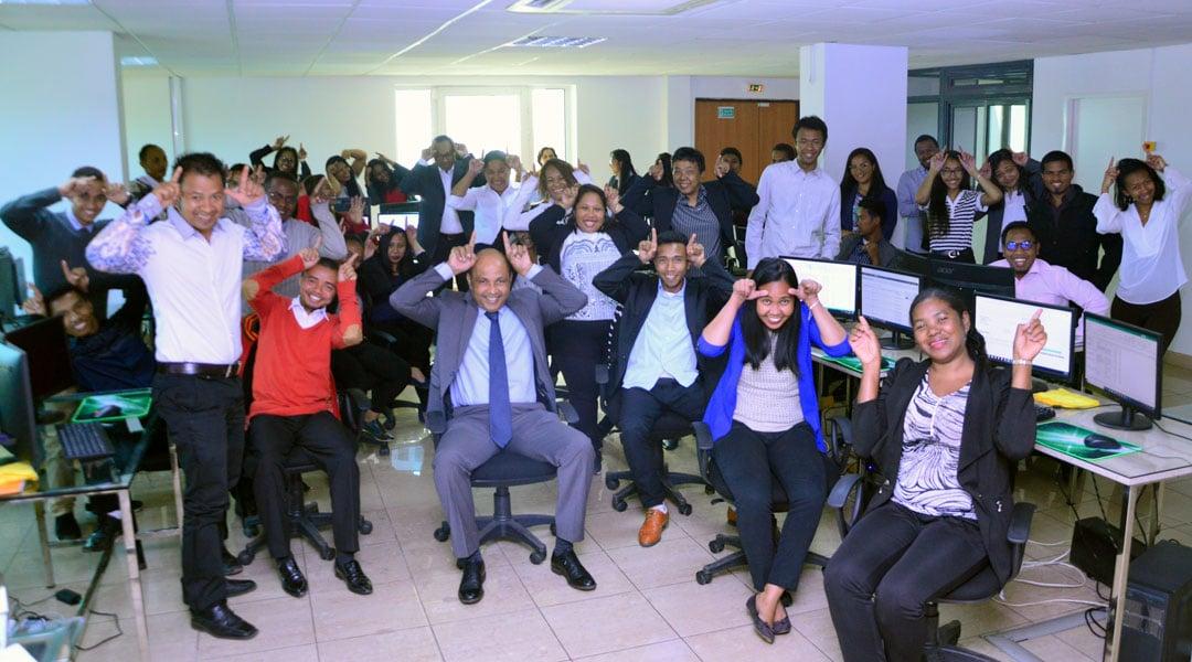 COSOURCING soutient les Barea de Madagascar #JESUISBAREA