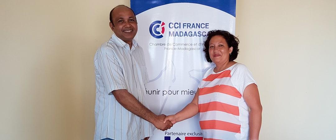 Cosourcing chambre de commerce et d'industrie France Madagascar